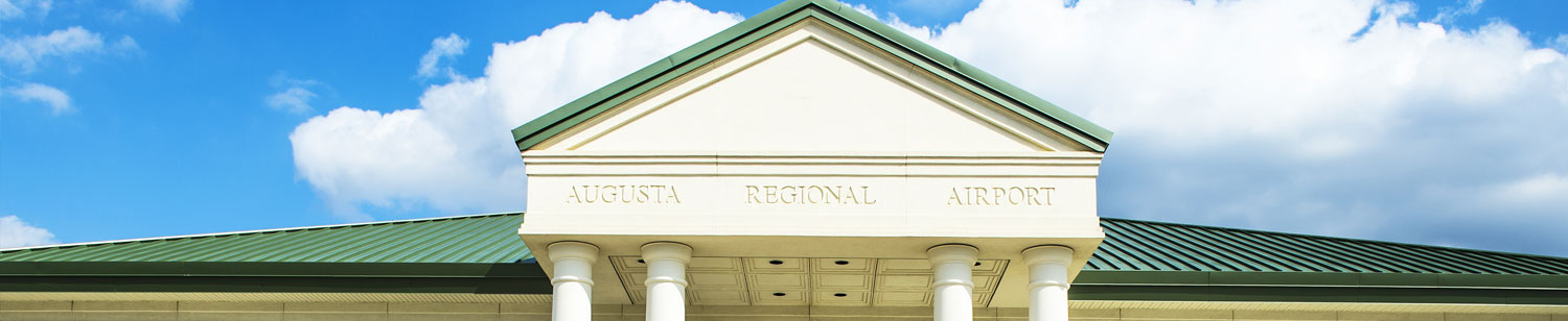 Augusta Regional Airport Bathrooms Banner | Sommers Construction Company