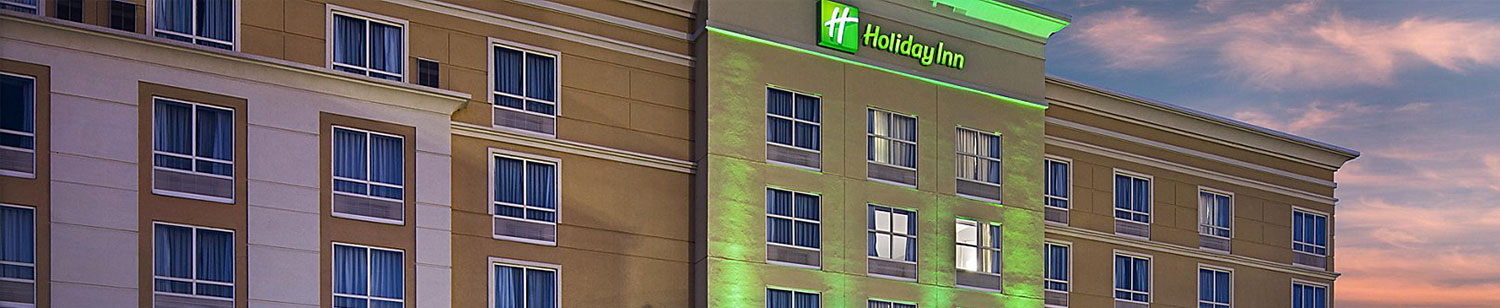 Holiday Inn Banner | Sommers Construction Company
